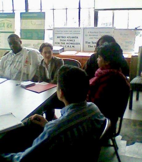 Homless Roundtable with Atlanta City Councilman Alex Wan, 2010