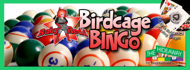 Ruby Redd's Birdcage Bingo Logo